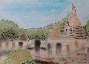 Jardin bouddhiste. (cc) Coline Cesbron (23/11/13)